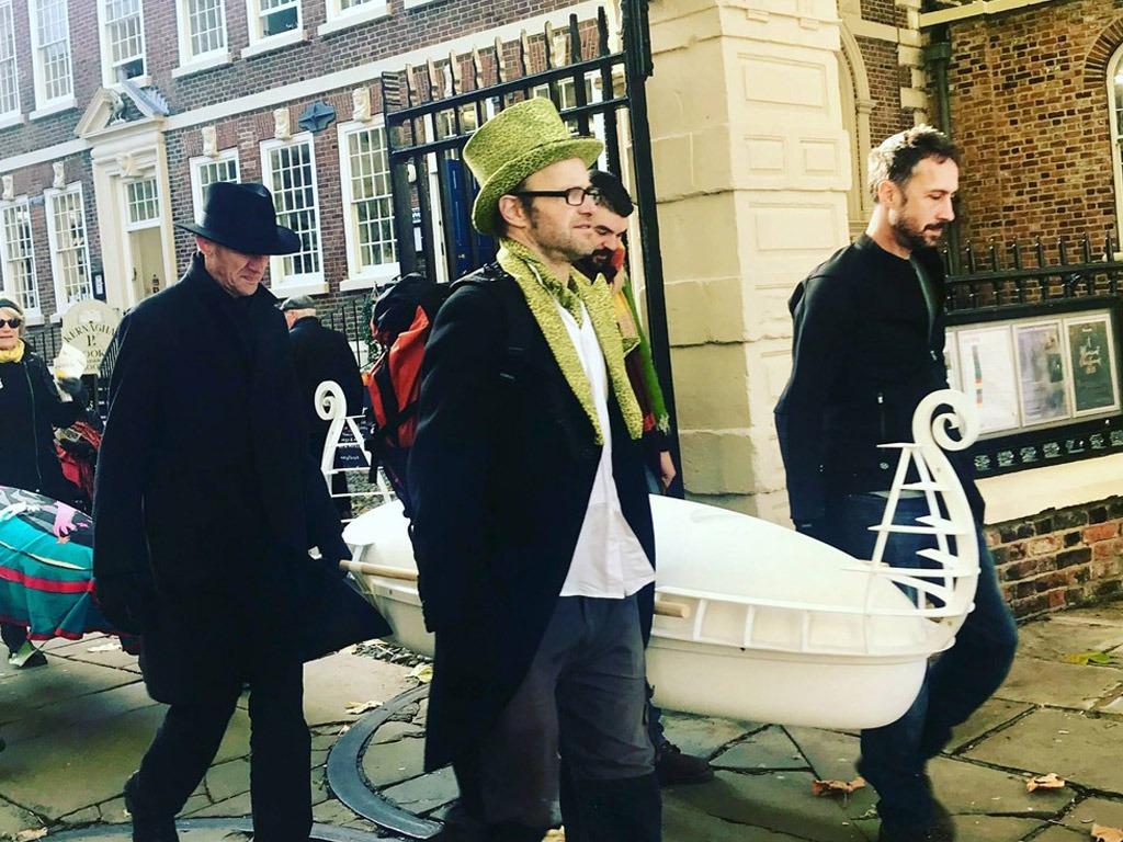 eco coffin koffin parade